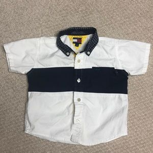TOMMY HILFIGER • Toddler Polo Shirt • Size 18/24M